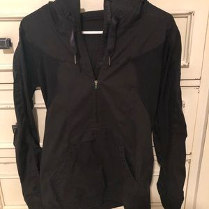 Lululemon quarter zip rain jacket